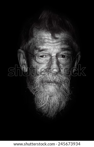 """BERLIN - GERMANY - FEBRUARY 6: John Hurt at the arrives 64th  Berlinale International Film Festival """"The Grand Budapest Hotel"""" premiere at Berlinale Palast on February 6, 2014 in Berlin, Germany. - stock photo"""