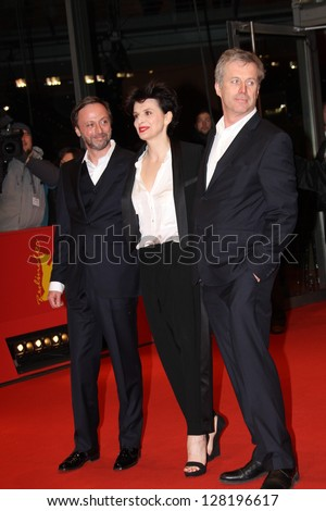 BERLIN, GERMANY - FEBRUARY 12: Juliette Binoche attends the 'Camille Claudel 1915' Premiere during the 63rd Berlinale  Festival at Berlinale Palast on February 12, 2013 in Berlin, Germany