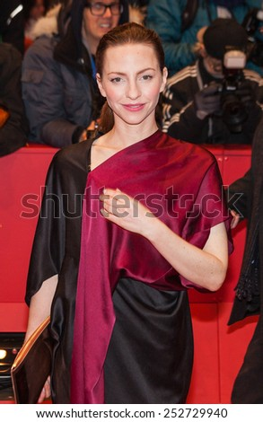 BERLIN, GERMANY - FEBRUARY 14: Katharina Schuettler attends the Closing Ceremony of the 65th Berlinale International Film Festival at Berlinale Palace on February 14, 2015 in Berlin, Germany.