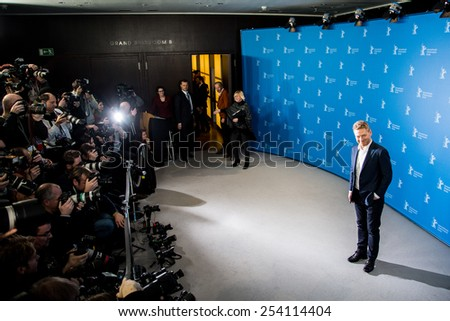 BERLIN, GERMANY - FEBRUARY 13: Kenneth Branagh, 'Cinderella' photocall.65th Berlinale International Film Festival at Grand Hyatt Hotel on February 13, 2015 in Berlin, Germany - stock photo