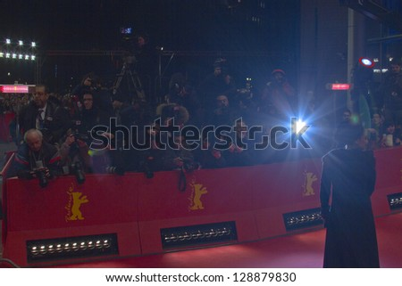 BERLIN, GERMANY - FEBRUARY 16: Maryam Moghadam attends the Closing Ceremony of the 63rd Berlinale International Film Festival at Berlinale Palast on February 14, 2013 in Berlin, Germany. - stock photo