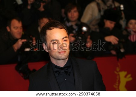BERLIN, GERMANY - FEBRUARY 05: Nikolai Kinski attends the opening party during the 65th Berlinale International Film Festival at Berlinale Palace on February 5, 2015 in Berlin, Germany. - stock photo