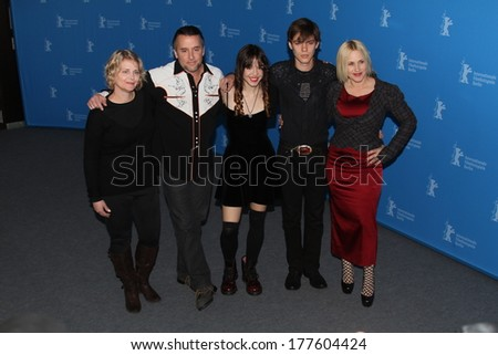 BERLIN, GERMANY - FEBRUARY 13: Patricia Arquette attends the 'Boyhood' photocall during 64th Berlinale International Film Festival at Grand Hyatt Hotel on February 13, 2014 in Berlin, Germany.  - stock photo