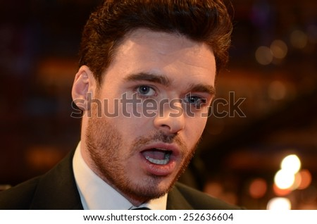 "BERLIN - GERMANY - FEBRUARY 10: Richard Madden at the 65rd Annual Berlinale International Film Festival ""Cinderella"" at Berlinale Palast on February 10, 2015 in Berlin, Germany"