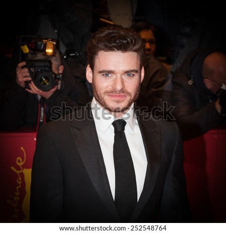 BERLIN, GERMANY - FEBRUARY 13: Richard Madden attends the 'Cinderella' premiere during the 65th Berlinale International Film Festival at Berlinale Palace on February 13, 2015 in Berlin, Germany.