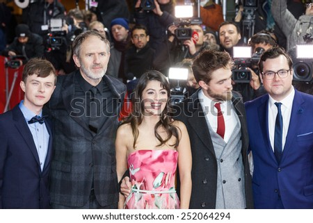 BERLIN, GERMANY - FEBRUARY 09: the cast attends the 'Life' premiere during the 65th Berlinale International Film Festival at Zoo Palast on February 9, 2015 in Berlin, Germany