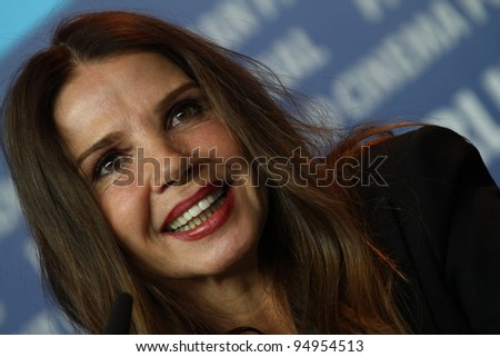 BERLIN, GERMANY - FEBRUARY 11: Victoria Abril attends 'The Woman Who Brushed Off Her Tears' Press Conference during of the 62 Berlin Festival at the Hyatt on February 11, 2012 in Berlin, Germany.