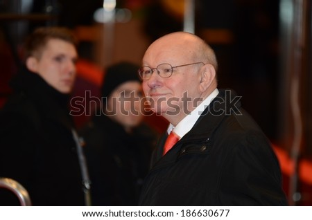 BERLIN - GERMANY - FEBRUARY 15: Walter Momper at the 64rd Berlinale Abschlussgala at Berlinale Palast on February 15, 2014 in Berlin, Germany.