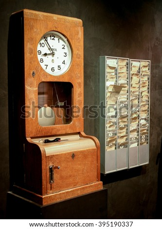 Punch Clock Stock Images Royalty Free Images Amp Vectors