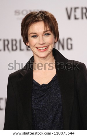 BERLIN, GERMANY - JANUARY 05: Christiane Paul attends the 'The Girl With The Dragon Tattoo' Germany Premiere at the Cinestar movie theater on January 5, 2012 in Berlin, Germany.