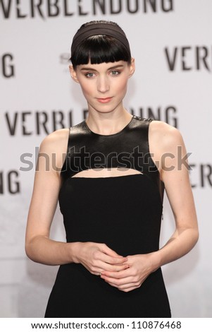 BERLIN, GERMANY - JANUARY 05: Rooney Mara attends the 'The Girl With The Dragon Tattoo' Germany Premiere at the Cinestar movie theater on January 5, 2012 in Berlin, Germany.
