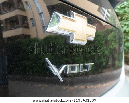Berlin Germany June 27 2018 Chevrolet Stock Photo Royalty Free