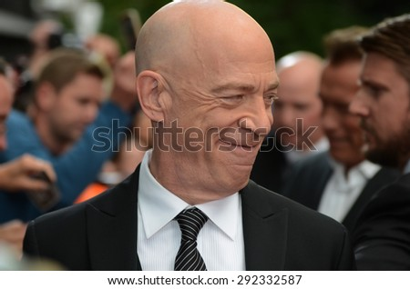 BERLIN - GERMANY - June 21: J. K. Simmons at the Europe premiere from Terminator Genisys at CineStar,Sony Center on June 21, 2015 in Berlin, Germany.