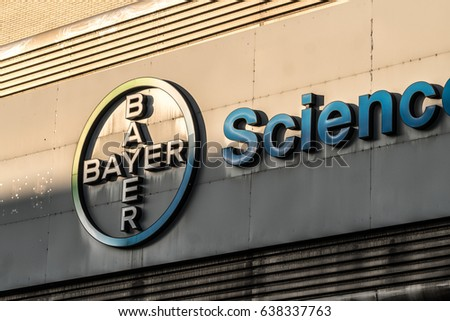 Berlin Germany May 7 2017 Bayer Stock Photo Edit Now 638337763