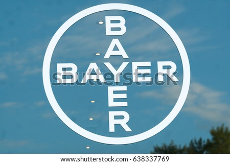 Berlin Germany May 7 2017 Bayer Stock Photo Royalty Free 638337769