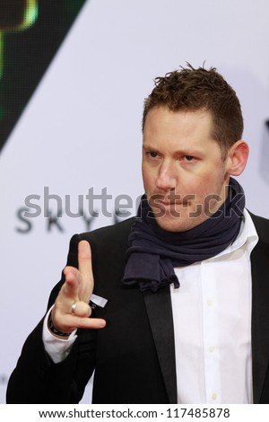"BERLIN, GERMANY - OCTOBER 30: Marco Kreuzpaintner attends the Germany premiere of James Bond 007 movie "" Skyfall "" at the Theater am Potsdamer Platz on October 30, 2012 in Berlin, Germany"