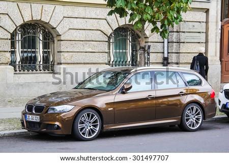 BERLIN, GERMANY   SEPTEMBER 12, 2013: Motor Car BMW E91 3 Series