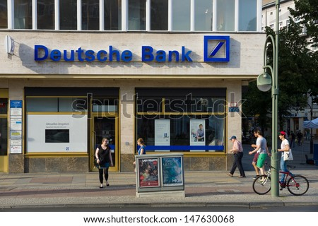 berlin july 24 deutsche bank ag is a german global banking and financial services company it. Black Bedroom Furniture Sets. Home Design Ideas