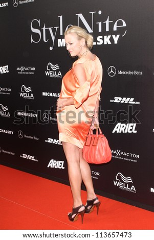 BERLIN - JULY 06: Jenny Elvers-Elbertzhagen attends the Michalsky Style Nite 2012 during Mercedes-Benz Fashion Week Berlin Spring/Summer 2013 at Tempodrom on July 6, 2012 in Berlin, Germany.