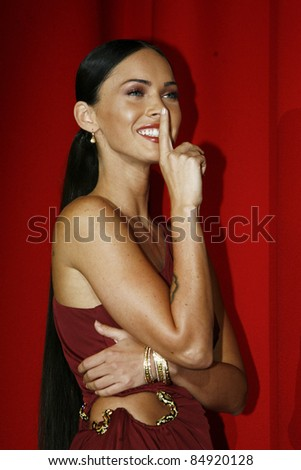 BERLIN - JUNE 14: Megan Fox attends the German premiere of 'Transformers: Revenge Of The Fallen' at the Sony Center CineStar on June 14, 2009 in Berlin, Germany. - stock photo