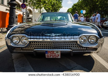 berlin june 05 2016 personal luxury car ford thunderbird third generation