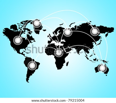 Best business Concept of global business from concepts series - stock photo