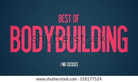 BEST OF - BODYBUILDING - NO EXCUSES
