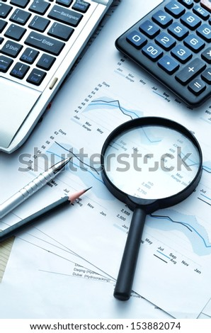 Best of business and office related still life picture series - stock photo