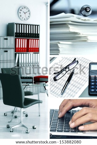 Best of business and office related still life picture series