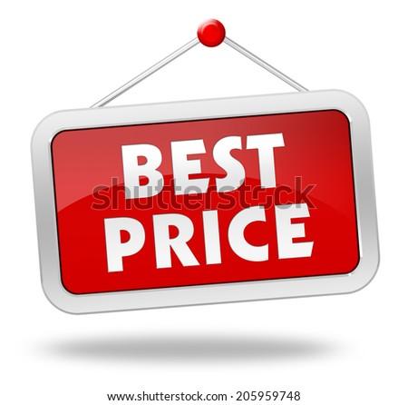 best price - stock photo