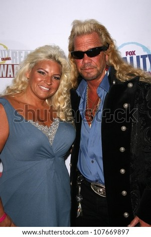 Beth Smith and Duane Chapman  at the Fox Reality Channel Awards. Avalon Hollywood, Hollywood, CA. 09-24-08