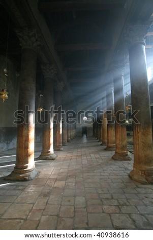 Bethlehem Basilica of the Nativity - stock photo