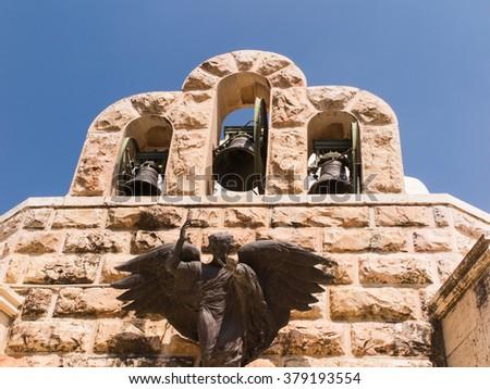 Bethlehem Shepherds Field Church. Palestine. Israel - stock photo