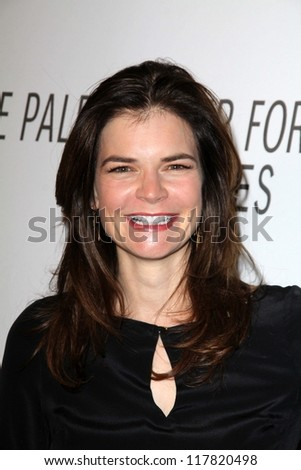 Betsy Brandt at the Paley Center Annual Los Angeles Benefit, The Lot, West Hollywood, CA 10-22-12