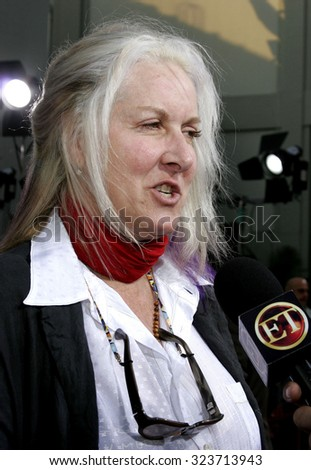 Betty Thomas at the Los Angeles premiere of 'John Tucker Must Die' held at the Grauman's Chinese Theater in Hollywood, USA on July 25, 2006.