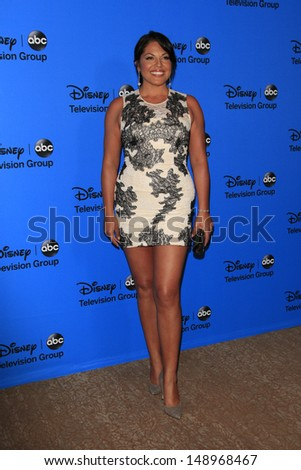 BEVERLY HILLS - AUG 4: Sara Ramirez at the 2013 Television Critics Association's Summer Press Tour - Disney/ABC Party at The Beverly Hilton Hotel on August 4, 2013 in Beverly Hills, California