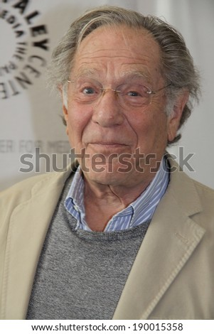 BEVERLY HILLS, CA � APRIL 28, 2014: Actor George Segal at ��The Goldbergs: Your TV Trip to the 1980s�� event on April 28, 2014 in Beverly Hills, Ca.