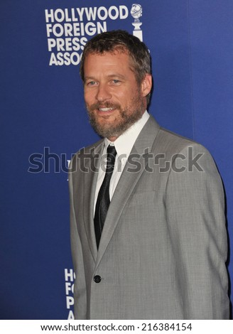 BEVERLY HILLS, CA - AUGUST 14, 2014: Actor James Tupper at the Hollywood Foreign Press Association's annual Grants Banquet at the Beverly Hilton Hotel.  - stock photo