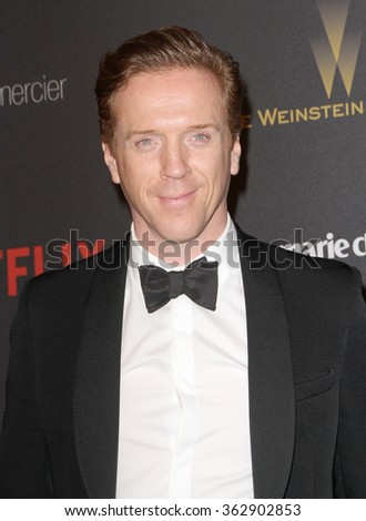 BEVERLY HILLS, CA - JAN. 10: Damian Lewis arrives at the Weinstein Company and Netflix 2016 Golden Globes After Party on Sunday, January 10, 2016 at the Beverly Hilton Hotel in Beverly Hills, CA.