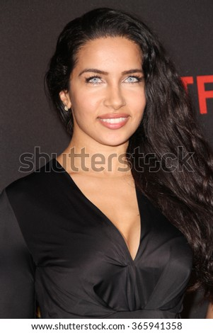 BEVERLY HILLS, CA - JAN. 10: Nasia Jansen arrives at the Weinstein Company and Netflix 2016 Golden Globes After Party on Sunday, January 10, 2016 at the Beverly Hilton Hotel in Beverly Hills, CA.  - stock photo