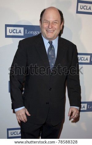 BEVERLY HILLS, CA - JUNE 4 Jason Alexander arrives to the UCLA Longevity Center event to Honor Jane Fonda at the Beverly Hilton Hotel in Beverly Hills, CA on June 4, 2011. - stock photo