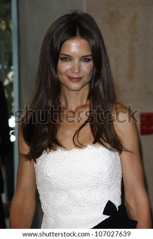 BEVERLY HILLS, CA - JUNE 16: Katie Holmes at the 2011 Women In Film Crystal + Lucy Awards at the Beverly Hilton Hotel in Beverly Hills, California on June 16, 2011.