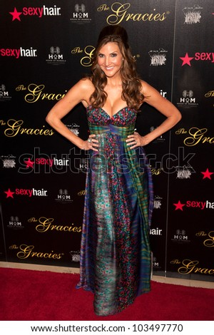 BEVERLY HILLS, CA - MAY 21: Heather McDonald arrives at the 2012 Gracie Awards Gala on May 21st 2012 at the Beverly Hills Hilton in Beverly Hills.
