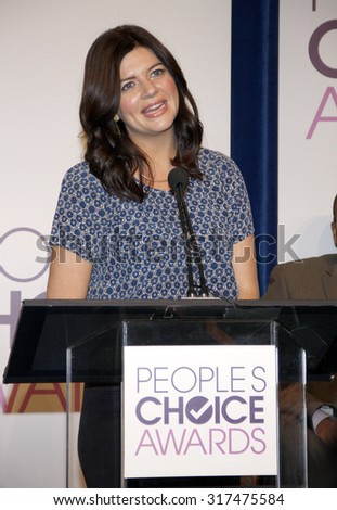 BEVERLY HILLS, CA - NOVEMBER 15, 2012: Casey Wilson at the People's Choice Awards 2013 Nominations held at the Paley Center in Beverly Hills, USA on November 15, 2012. - stock photo