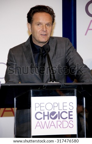 BEVERLY HILLS, CA - NOVEMBER 15, 2012: Mark Burnett at the People's Choice Awards 2013 Nominations held at the Paley Center in Beverly Hills, USA on November 15, 2012. - stock photo