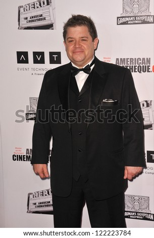 BEVERLY HILLS, CA - NOVEMBER 15, 2012: Patton Oswalt at the 26th Annual American Cinematheque Awards Ceremony honoring Ben Stiller at the Beverly Hilton Hotel. - stock photo