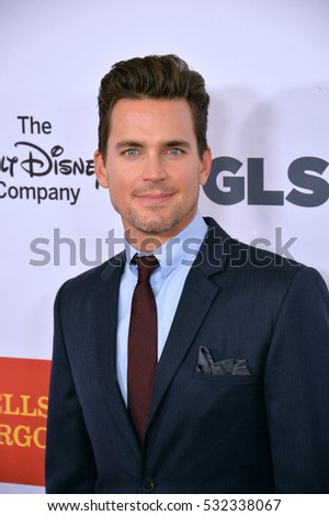 BEVERLY HILLS, CA. October 21, 2016: Actor Matt Bomer at the 2016 GLSEN Respect Awards, honoring leaders iin the fight against bullying & discrimination in schools, at the Beverly Wilshire Hotel.