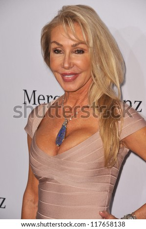BEVERLY HILLS, CA - OCTOBER 20, 2012: Linda Thompson at the 26th Carousel of Hope Gala at the Beverly Hilton Hotel.