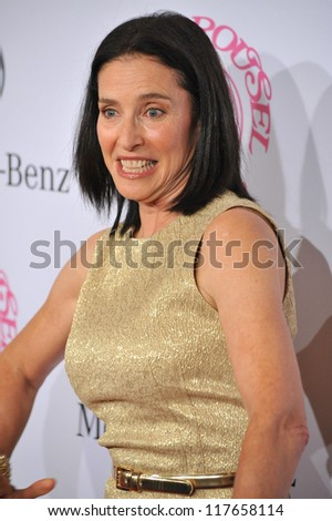 BEVERLY HILLS, CA - OCTOBER 20, 2012: Mimi Rogers at the 26th Carousel of Hope Gala at the Beverly Hilton Hotel.