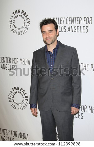 BEVERLY HILLS, CA - SEP 6: David Krumholtz at the 2012 PaleyFest: Fall TV Preview - CBS Preview Screening Of 'Partners' at The Paley Center for Media on September 6, 2012 in Beverly Hills, California.